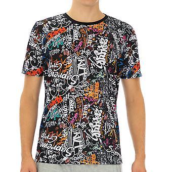 Supreme Grip Homme T-Shirt Sept Demi-manches Multicolore