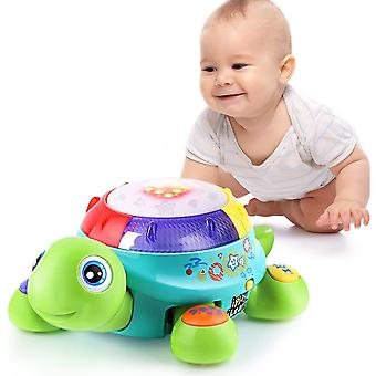 Baby Electronic Music Turtle Toy-anglais et espagnol