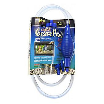 """Lees Ultra Gravel Vac with Squeeze Bulb - Medium - 10"""" Long with Flow Control Valve"""