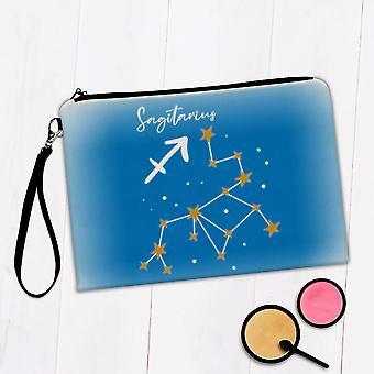 Gift Makeup Bag: Sagittarius Constellation Zodiac