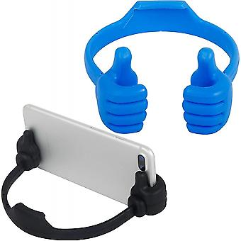 2pcs Thumbs Up Cell Phone Stand Desk Cell Phone Holder Smart Cellphone Tablet Holders