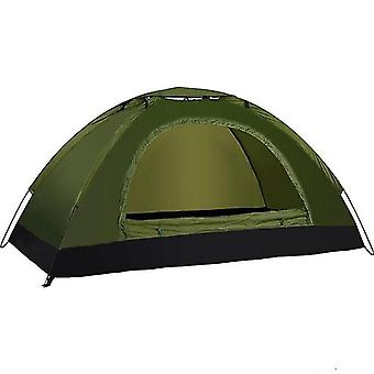 Outdoor furniture covers 200x120x110cm tents outdoor camping portable waterproof hiking tent anti uv tent dark green