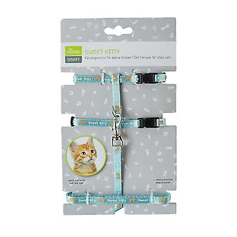 Pet collars harnesses sweet kitty puppy and cat harness  nylon