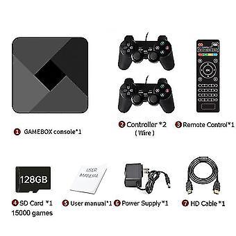 Hd Super x Konsole 51000 + Retro klassisches Spiel Mini TV Box Video Player Wireless Controller (128gb