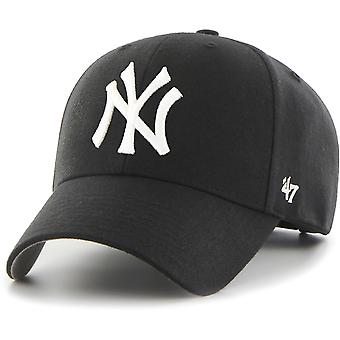 47 Brand New York Yankees MVP Baseball Cap Black 64