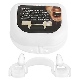Halloween-vampyyrin hammasproteesit