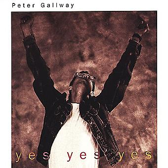 Peter Gallway - Yes Yes Yes [CD] USA import