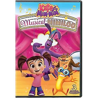 ケイト ・ Mim-Mim: 音楽 Mimiloo 【 DVD 】 アメリカ インポートします。