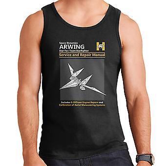 Star Fox Arwing Service And Repair Manual Men's Vest