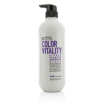 Kms California Color Vitality Blonde Shampoo (anti-yellowing And Restored Radiance) - 750ml/25.3oz