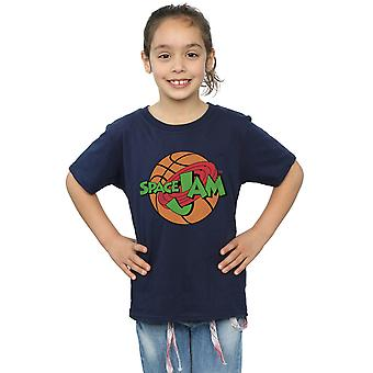 Space Jam Girls Simple Logo T-Shirt