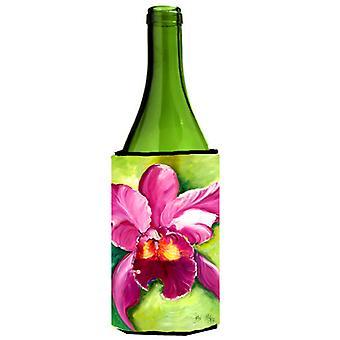 Carolines tesoros JMK1176LITERK orquídea botella de vino bebidas aislador Hugger