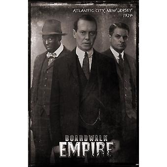 Boardwalk Empire - Vintage Poster Plakat-Druck