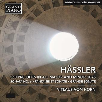 Hassler - 360 Preludes [CD] USA import