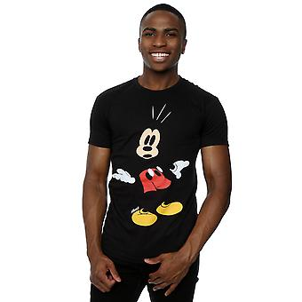 Disney Men's Mickey Mouse Surprised T-Shirt