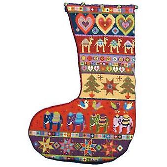 圣诞长袜针尖套件