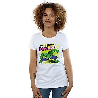 Beundre kvinners Hulken t-skjorte