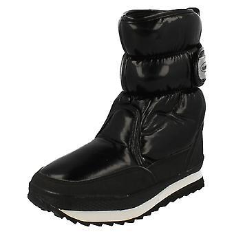 Ladies Snowfun Rip Tape Snow Boot 8.886709
