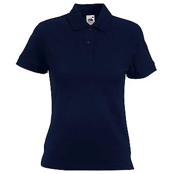 Fruit of the Loom Womens Lady-Fit Short Sleeve Polo Shirt