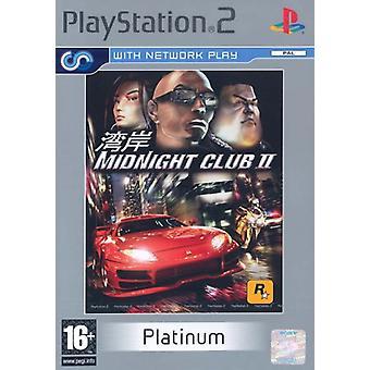 Midnight Club 2 Platinum (PS2) - Ny fabrik förseglad