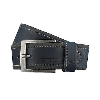 Ceintures pour hommes camel active ceintures cuir ceinture bleue 3107