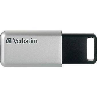 Verbatim Secure Pro USB stick 32 GB Silver-black 98665 USB 3.0
