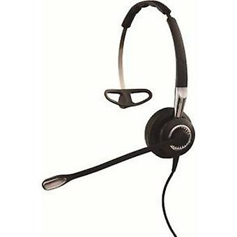 Jabra BIZ 2400 II Phone headset QDCs (Quick Disconnect) Mono Over-the-ear Black