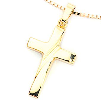 Pendant JEANETTE Kreuz piece of jewelry gold 333 for chain