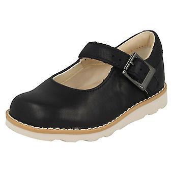 Tytöt Clarks ilmajousien rento kengät Crown kunnia