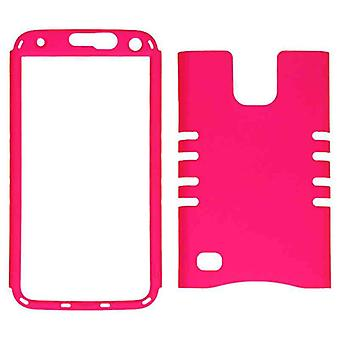 Rocker Series Snap-On Protector Case pour Samsung Galaxy S5 / G900A / G900V / G900P / G900T / G900R4 (Fluorescent Dark Ho