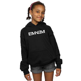 Eminem Mädchen Plain Text Hoodie