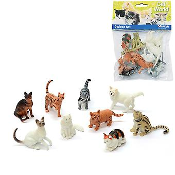 Pet World Cats 9 pc Bag