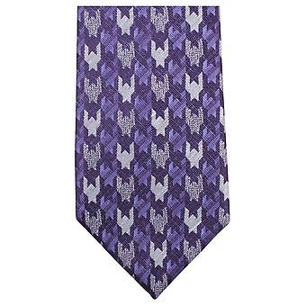 נייטסברידג ללבוש בדוגמת עניבה-סגול/כסף