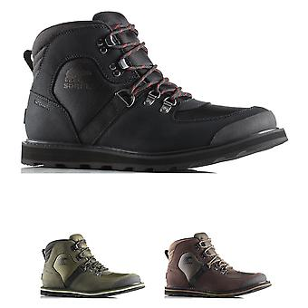 Mens Sorel Madson Sport Hiker Waterproof Leather Winter Snow Ankle Boots