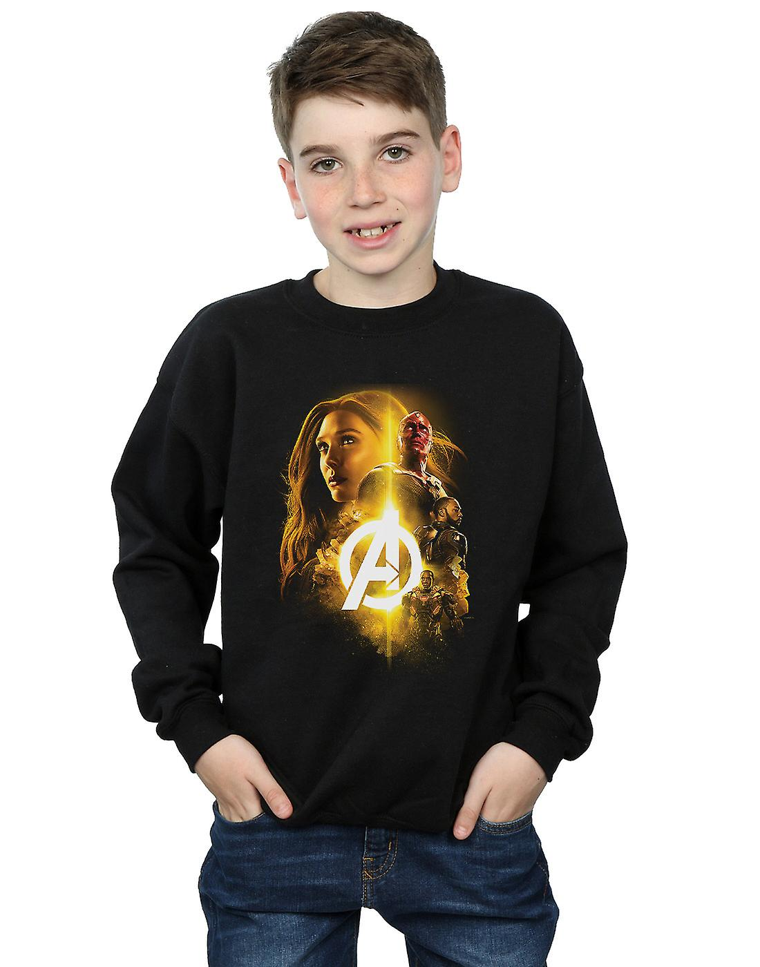 Marvel Boys Avengers Infinity War Vision Witch Team Up Sweatshirt
