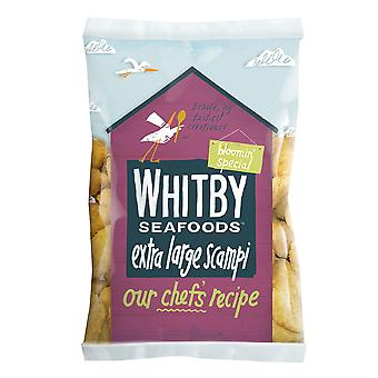 Whitby Frozen Extra Large Breaded Wholetail Scampi