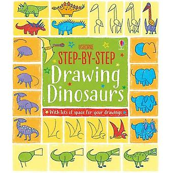 Step-by-Step Drawing Dinosaurs by Fiona Watt - Candice Whatmore - 978