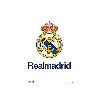 Real Madrid CF Crest affiche