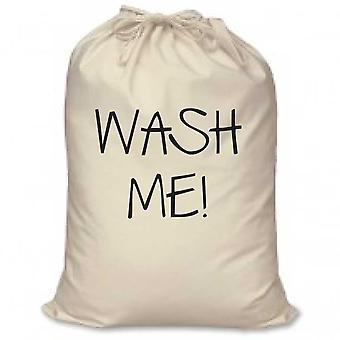 Wash Me Laundry Bag 100% Natural Cotton