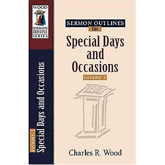 Sermon Outlines for Special Days and Occasions, Vol. 1