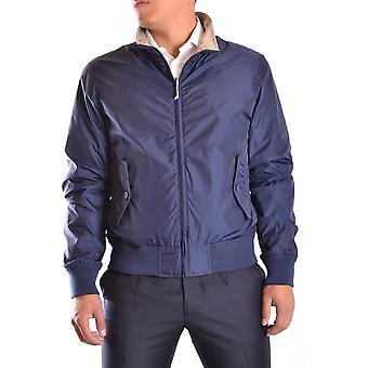 Aspesi Ezbc067046 Men's Blue Polyester Outerwear Jacket