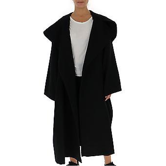 Yohji Yamamoto Fvc20112 Women's Black Wool Coat