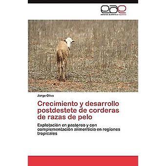 Crecimiento y Desarrollo Postdestete de Corderas de Razas de Pelo av Oliva & Jorge