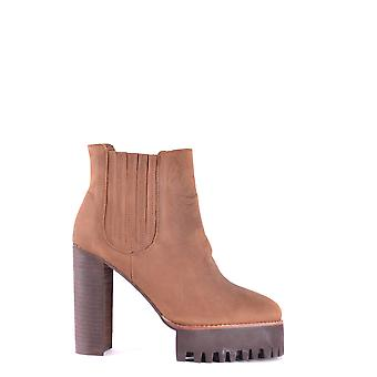 Jeffrey Campbell Ezbc132024 Dames's Brown Leather Ankle Boots