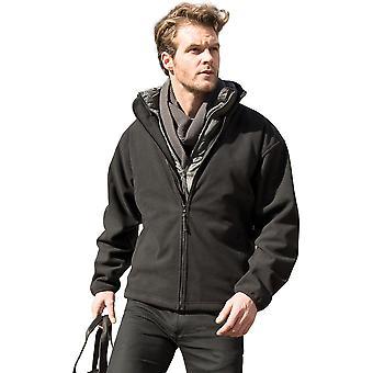 户外看 男士气候防水防风羊毛夹克