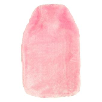 Luxury Soft Cosy Faux Fur Fabric Hot Water Bottle Cover only - for 2L