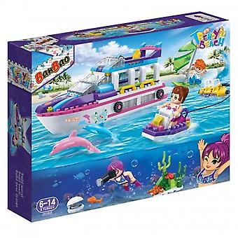 BanBao Interlocking Blocks Trendy Beach Yacht 6126 (325 Pcs)