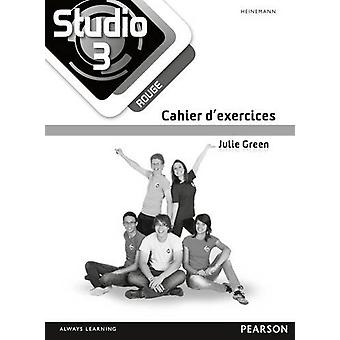 Studio 3 rouge Workbook for Pack (11-14 French) by Julie Green - 9780