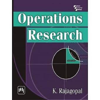 Operations Research by K. Rajagopal - 9788120346345 Book