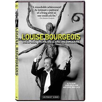 Bourgeois Louise-Spider Mistress & the Tangerine [DVD] USA import
